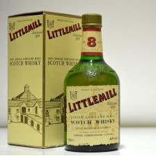 020706 Littlemill 8 Year Dumpy Bottle