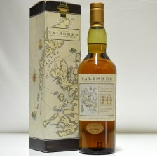 020904 Talisker 10 Year Old Old Map Label