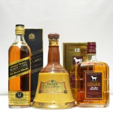 020623 Johnnie Walker Black Label, Logan 12 and Bell's Decanter