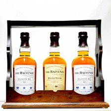 020180 Balvenie Display Set, 2x Signature & 1x Doublewood