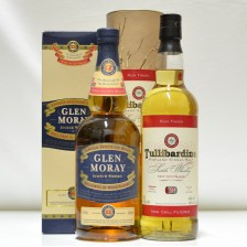 020936 Tullibardine Rum Finish & Glen Moray 12 Year Old