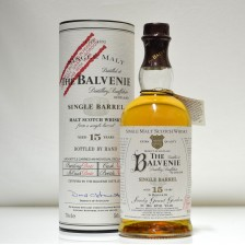 020167 Balvenie 15 Year Old Single Barrel - Sandy Grant Gordon