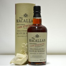 020746 Macallan Unfiltered Cask Strength Cask Fino Sherry 50cl
