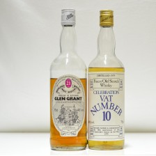 020458 Glen Grant 21 Year Old  & VAT No. 10 Malt