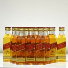 020634 Johnnie Walker Red Minis x 19