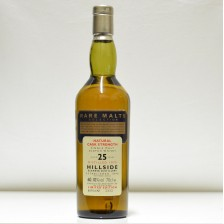 020832 Rare Malts Hillside 25 Year Old