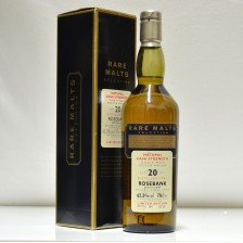 020836 Rare Malts Rosebank 20 Year Old