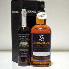 020892 Springbank 17 Year Old - Bottle No 1 of 1