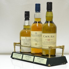 020910 Talisker, Glen Elgin & Caol Ila With Plinth