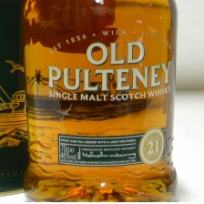 020770 Old Pulteney 21 Year Old Whisky Of The Year