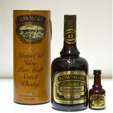 020230 Bowmore 12 Year Old Dumpy Bottle With Mini