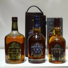 020381 Chivas Regal 2 x 12 Year Old & 1 x 18 Year Old