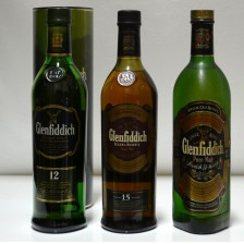 020507 Glenfiddich 12 Year Old, 15 Year Old & Pure Malt
