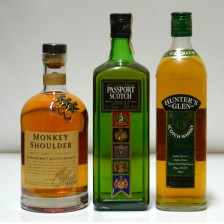 020759 Monkey Shoulder, Passport & Hunter's Glen