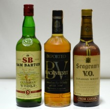 020849 Sam Barton, Black Velvet & Seagram's Canadian Whiskies