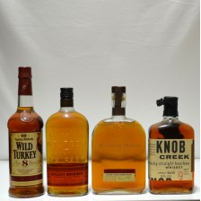 020944 Wild Turkey 8, Bulleit, Woodford Reserve & Knob Creek
