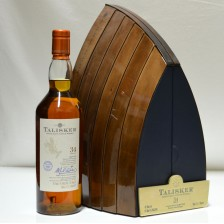 020906 Talisker 34 Year Old Presentation Box Boat Design